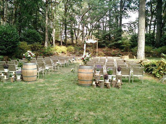 The Wedding Garden Picture Of Stonehedge Gardens Wine Country