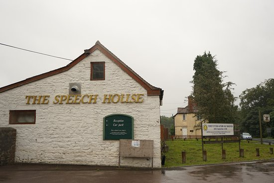 The Speech House Hotel: I have put this photograph on here it is round the corner from the front of the hotel just keep
