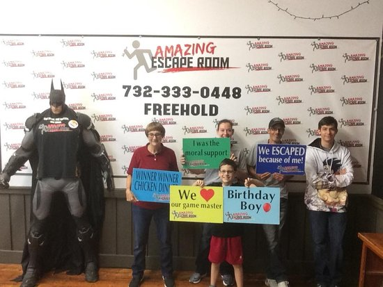 Amazing Escape Room Freehold: Great time