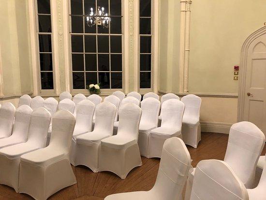 Dunchideock, UK: The main venue room