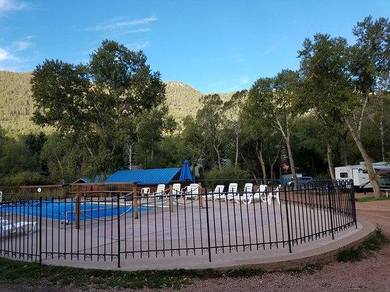 Chipita Park, CO: Pool area