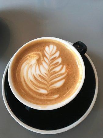TCD latte art