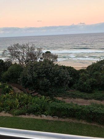 Ponta Malongane, موزمبيق: View from balcony