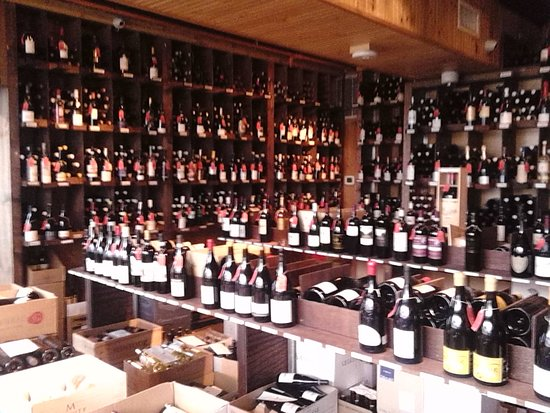 A Very Full Wine Cellar Picture Of Bleu Provence