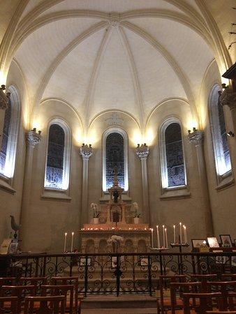 Chapelle des Marins: Intérieur de la chapelle (Saint-Valery se dit Saint-Val'ry - surtout pas d'accent))