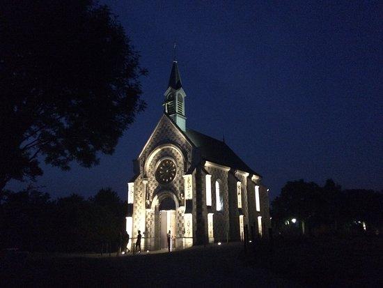Chapelle des Marins: Un joyau dans la nuit