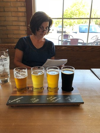 Combustion Brewery & Taproom: My ipa flight