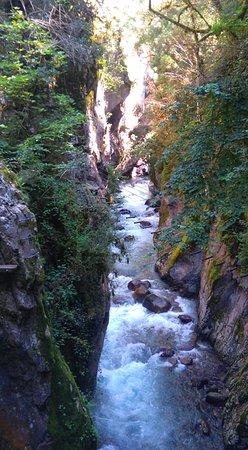 Lantosque, Francja: Les 3/4 du parcours sont ainsi :