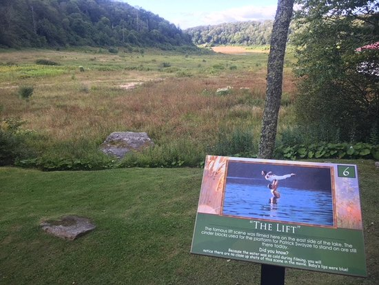 Site Of The Lake Where The Lift Was Filmed Dirty Dancing The Lake
