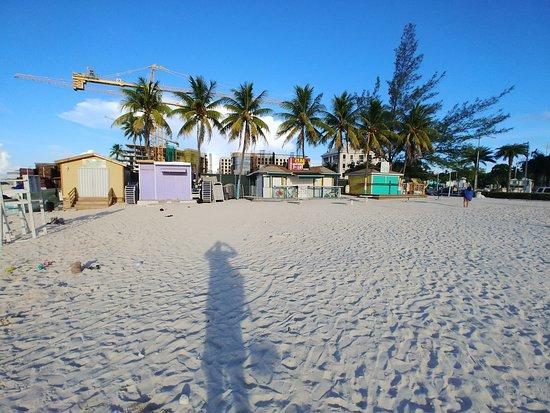 Junkanoo Beach: Close to Sunset!