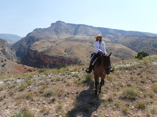 The Hideout Lodge & Guest Ranch: Breath-taking views
