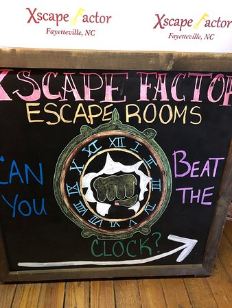 Xscape Factor Escape Rooms Fayetteville Nc 2019 All You Need To