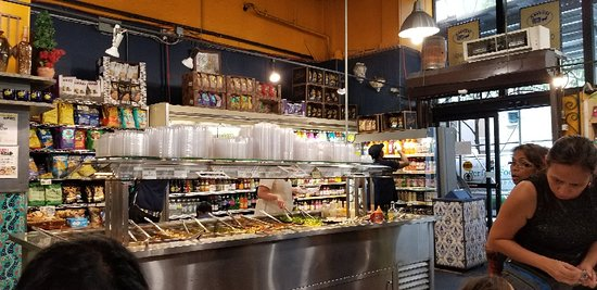 Amish Market East: A great selection of food  after a UN TOUR.