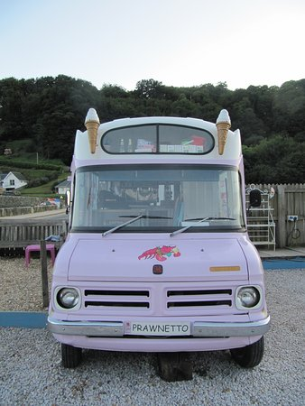 Winking Prawn: ice Cream Van