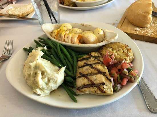 Tale of The Whale: Broiled Seafood Platter
