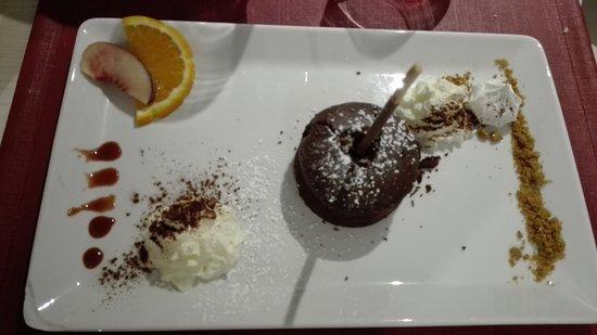 Bain-de-Bretagne, فرنسا: moelleux chocolat