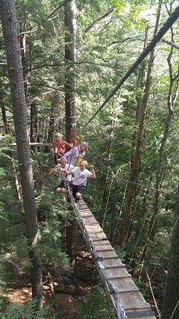 Haliburton Forest and Wild Life Reserve: Amazing Adventure!