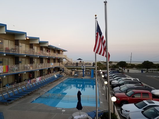 Attache Resort Motel: View from room #201