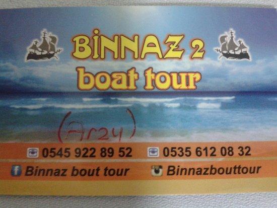 Binnaz 2 Boat Tour