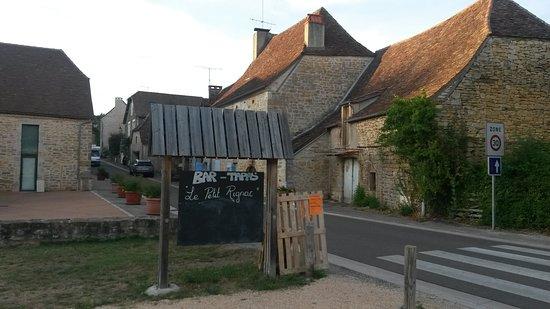 Rignac, Frankrike: Vue depuis le restaurant