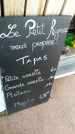 Rignac, Frankrike: ils sont délicieux ces tapas!