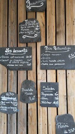 Rignac, Frankrike: ce qu'on mange...
