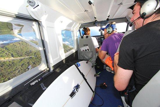 Barwon Heads, Australia: Inside Plane