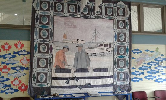 Lockeport, Canada: Wall Hanging (quilt) in Visitors Centre