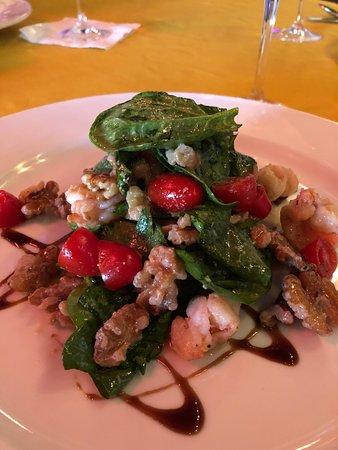 Amazing Spinach Salad @ IL Forno