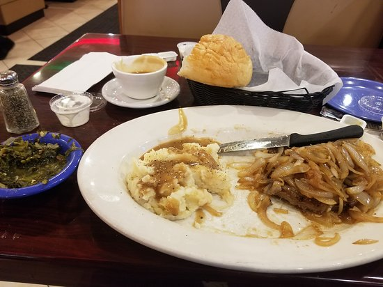 City Cafe Diner: Liver and onions