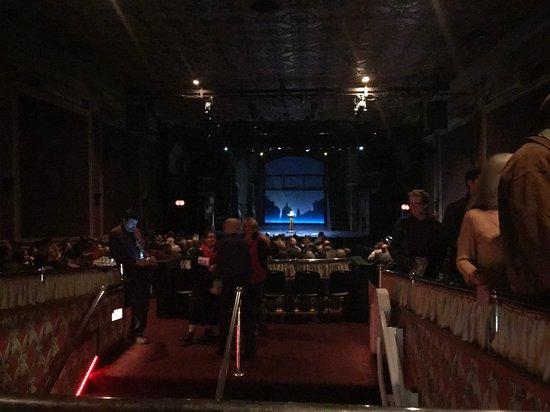 Theater Three: Vista interna del teatro