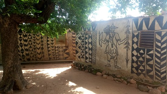 Tiebele, Burkina Faso: beautiful things where already here before