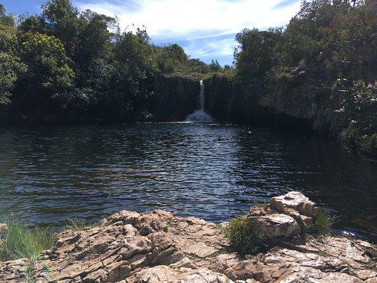 Cachoeira de São Bento: Primeira queda