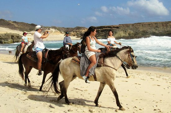 Aruba Natural Pool Horseback Riding...