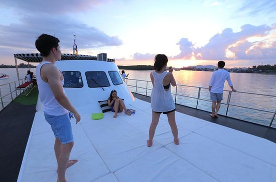 Live Life Sunset Cruise Along the...