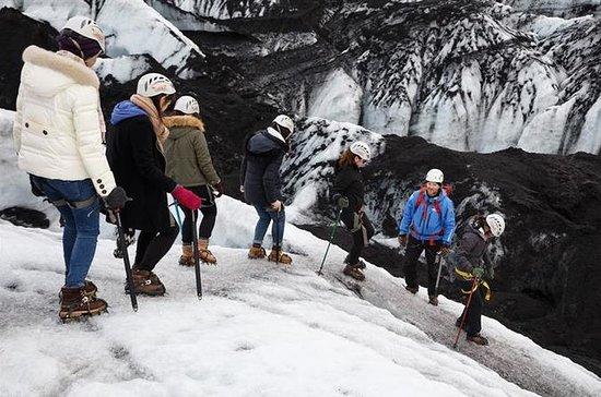 Glaciärvandring på Sólheimajökulls ...