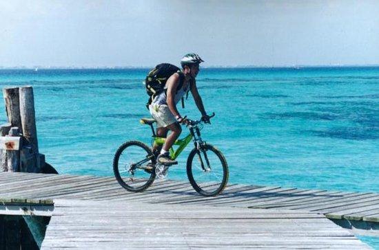 Excursão de aventura de bicicleta...