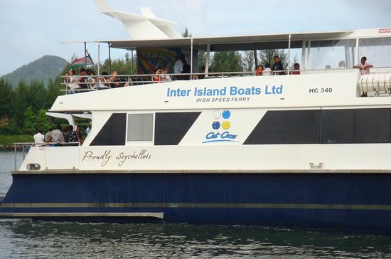 Cat Cocos: Mahe to La Digue Island Fast Ferry One-Way or Round-Trip