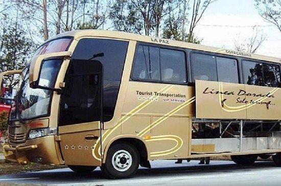 TITICACA LAKE - TOURIST BUS TICKET...