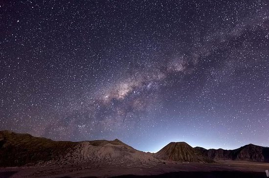 Mount Bromo Milky Way and Sunrise...