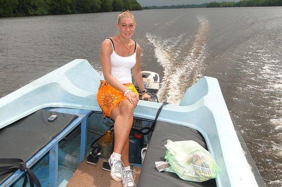 Safari do rio Bentota