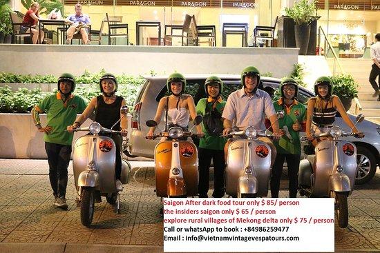 Vietnam Vintage Vespa Tours