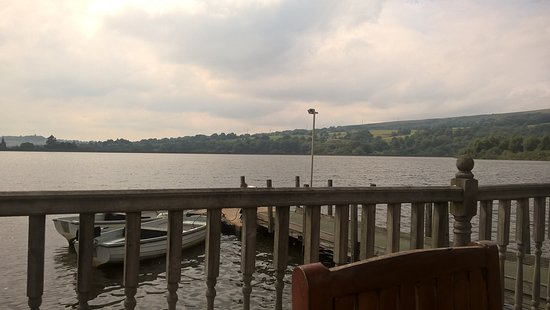 Tintwistle, UK: View from the decking