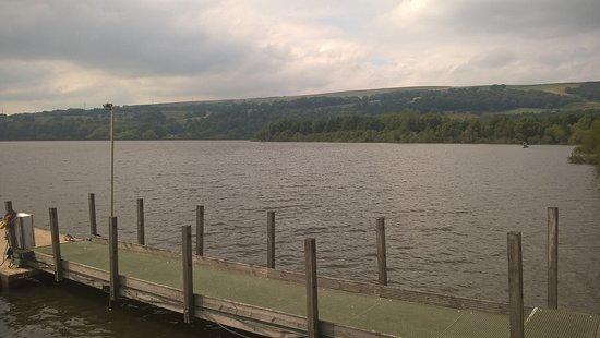 Tintwistle, UK: Boat mooring