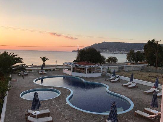 Mediterranean Hotel: Vista dalla camera