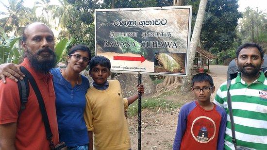 Gal Vihara: Ravana Cave welcomes you