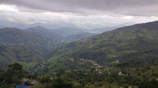 View from mystic mountain nagarkot