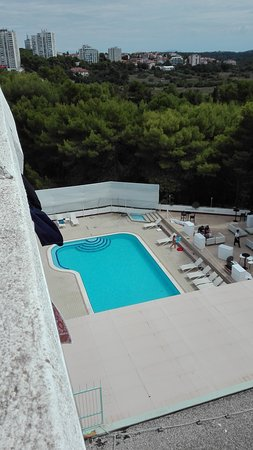 Hotel Pula: Pool mainly for children