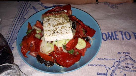 Limenariotissa Food House: Grcka salata