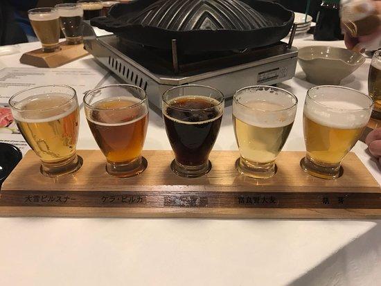 Taisetsujibirukan: 不同發酵情度的啤酒